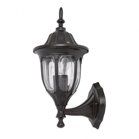 Aplice - Aplica pentru iluminat exterior IP43, up light, negru Milano