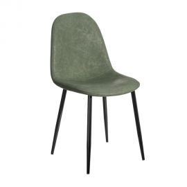 Set de 2 scaune design modern Jaffer, verde