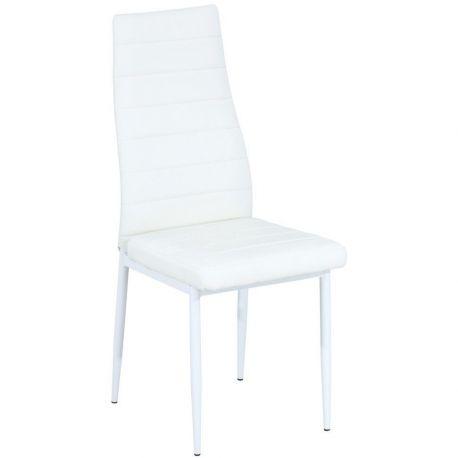 Scaune - Scaun H261 alb/ alb