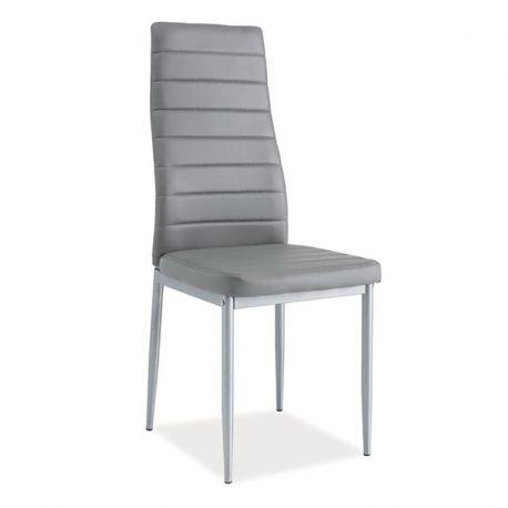 Scaune - Scaun H261 aluminiu/ gri