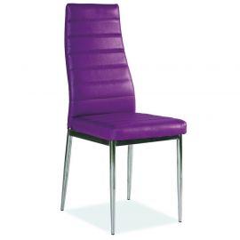 Scaune - Scaun H261 crom/ violet
