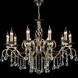 Candelabru elegant cu 10 brate Grace bronz
