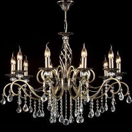 Candelabre, Lustre - Candelabru elegant cu 10 brate Grace bronz