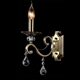 Aplice - Aplica de perete eleganta Grace 1 bronze
