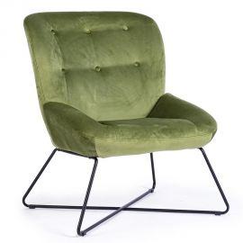 Fotolii - Fotoliu confortabil design modern CHERYL catifea verde