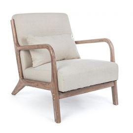 Fotolii - Fotoliu din lemn design vintage ANCILLA