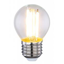 Becuri E27 - Bec LED decorativ cu filament E27 ILLU 6W 2700K