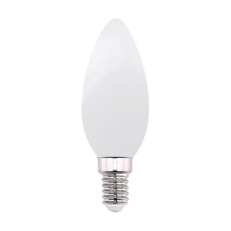 Becuri E14 - Bec LED decorativ cu filament E14 candel dimabil 4W 2700K