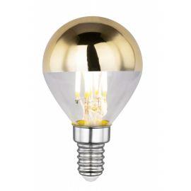 Bec LED decorativ cu filament E14 ILLU 4W 2700K