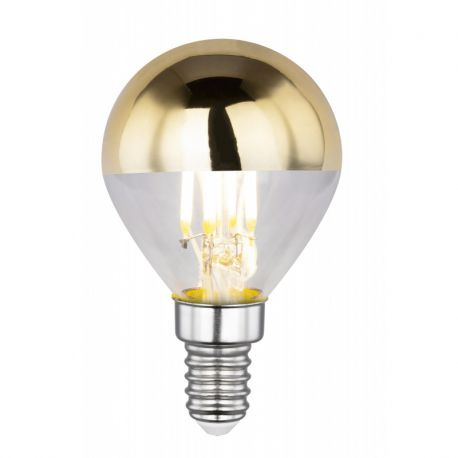 Becuri E14 - Bec LED decorativ cu filament E14 ILLU 4W 2700K