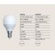 Becuri E14 - Bec LED decorativ cu filament E14 ILLU dimabil 5W 3000K