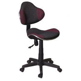 Scaune Birou cu role - Scaun de birou Q-G2 negru/ violet