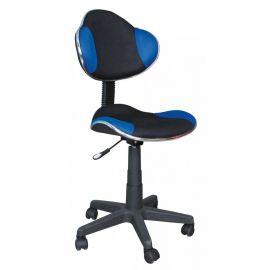 Scaune Birou cu role - Scaun de birou Q-G2 negru/ albastru