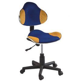 Scaune Birou cu role - Scaun de birou Q-G2 albastru/ galben