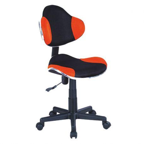 Scaune Birou cu role - Scaun de birou Q-G2 portocaliu/ negru