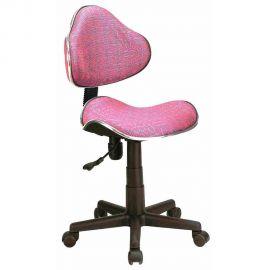 Scaune Birou cu role - Scaun de birou Q-G2 roz