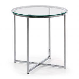 Masute Living - Masuta VIVID 50cm/ sticla transparenta
