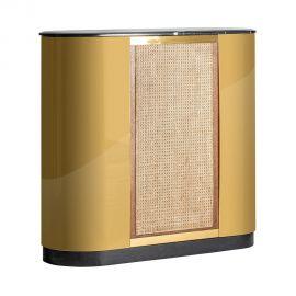 Vitrine - Bar stil Art Deco design vintage realizat din fier si marmura Bilcza