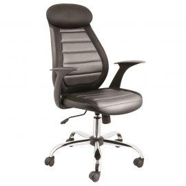 Scaune Birou cu role - Scaun de birou ergonomic Q-102 negru