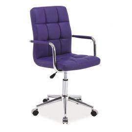 Scaune Birou cu role - Scaun pivotant Q-022 violet