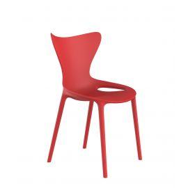 Articole pentru copii - Set de 4 scaune pentru copii de exterior / interior design modern premium Love mini