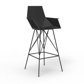 Scaune Bar - Set de 4 scaune de bar cu brate de exterior / interior design modern premium FAZ CHAIR