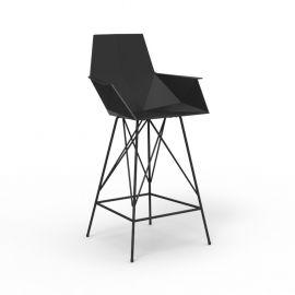 Scaune Bar - Set de 4 scaune de bar cu brate de exterior / interior design modern premium FAZ CHAIR counter