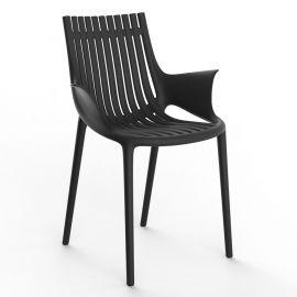 Seturi scaune, HoReCa - Set de 4 scaune cu brate de exterior / interior design modern premium IBIZA
