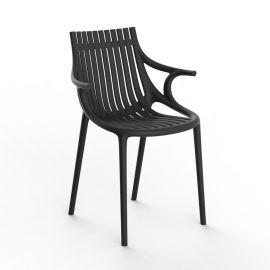 Scaune - Set de 4 scaune cu brate de exterior / interior design modern premium IBIZA