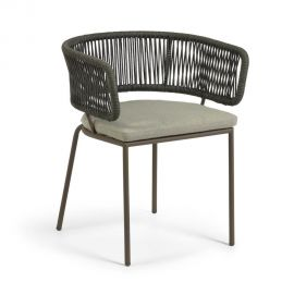 Scaune - Scaun pentru interior si exterior design modern Nadin verde