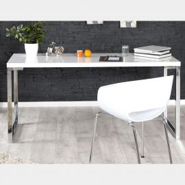 Birou White Desk 140cm alb