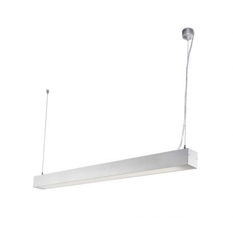 Lustre, Pendule suspendate profesionale - Lustra LED ORE Surface gri 18W 3000K