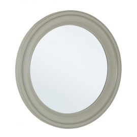Oglinzi - Oglinda decorativa rotunda MICHELANGELO gri, 78cm