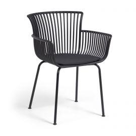 Scaune - Scaun de exterior / interior design modern Surpika negru