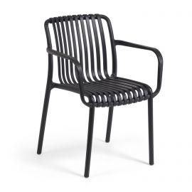 Scaune - Scaun de exterior / interior design modern Isabellini negru