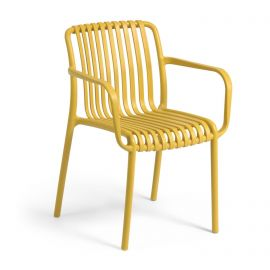 Scaune - Scaun de exterior / interior design modern Isabellini galben mustar