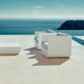 Fotoliu lounge de exterior / interior design modern premium ULM
