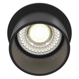 Plafoniere cu spoturi, Spoturi aplicate - Spot incastrabil design modern Reif negru