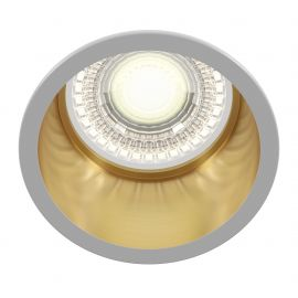 Plafoniere cu spoturi, Spoturi aplicate - Spot incastrabil design modern Reif alb/auriu