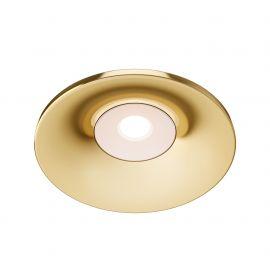 Plafoniere cu spoturi, Spoturi aplicate - Spot incastrabil design modern Barret auriu