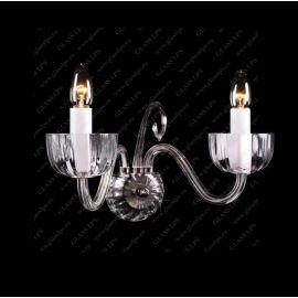 Aplice Cristal Bohemia - Aplica de perete eleganta cu 2 brate