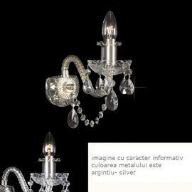 Aplice Cristal Bohemia - Aplica de perete cristal Bohemia N21 009/01/1-A