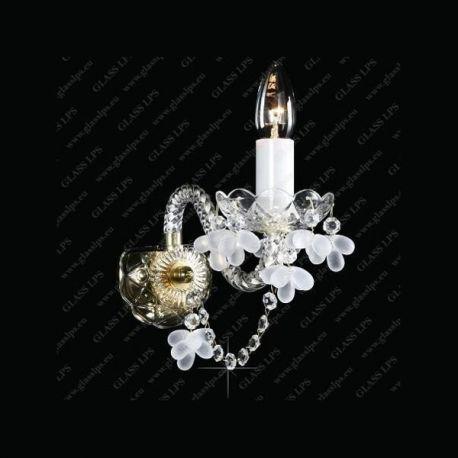 Aplice Cristal Bohemia - Aplica de perete cristal Bohemia N21 009/01/7