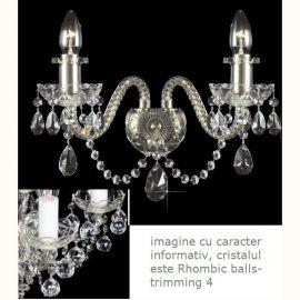 Aplice Cristal Bohemia - Aplica cristal Bohemia N21 009/02/4