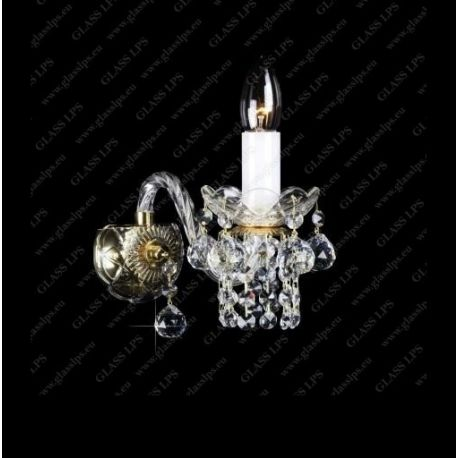 Aplice Cristal Bohemia - Aplica de perete cristal Bohemia N21 007/01/4