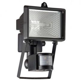 Proiector / Aplica iluminat exterior cu senzor IP44 Tanko negru 14x22cm