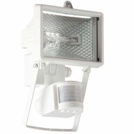 Proiectoare - Proiector / Aplica iluminat exterior cu senzor IP44 Tanko alba 18x25cm