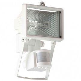 Proiectoare - Proiector / Aplica iluminat exterior cu senzor IP44 Tanko alba 14x22cm