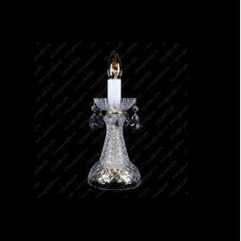 Veioze, Lampadare Cristal - Veioza, lampa de masa cristal Bohemia