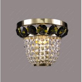 Aplice Cristal Bohemia - Aplica de perete cristal Bohemia N25 166/01/6, 6 olivine